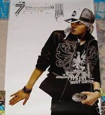 Korea Se7en Must Listen 2006 Taiwan Promo Poster