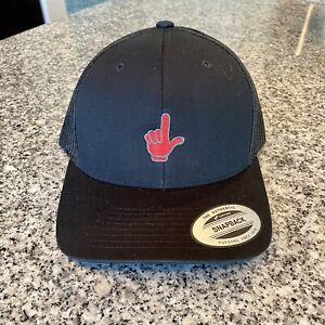New Scotty Cameron Loser Snapback Trucker Hat Black Mesh Las Vegas