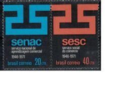 Brazilie mi 1298-1299 (1971) plakker - mh - x
