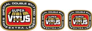 VITUS 980 tubing decal set- perfect for restorations V1