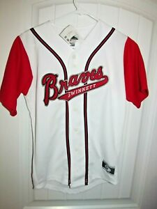 Gwinnett Braves Home jersey -  OT youth medium NWT