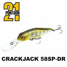 Pontoon21 Crack Jack 58SP-DR 5,8cm 5,7g Fishing Lures (Various Colors)