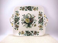 "Masons 11"" Cake Serving Plate STRATHMORE VGUC Cookie Snack Vintage Ironstone"