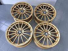 18 Zoll UA4 Felgen für VW Golf 5 6 7 GTI R R32 R20 Performance Gold Clubsport RS