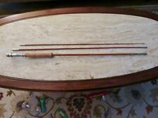 "Vintage 7'10"" 3 Piece Bamboo Fly Rod-UNMARKED"