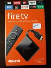 Amazon Fire TV Box 2018 version Alexa Voice Remote Control 4k New Packaged
