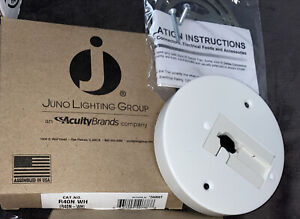 Juno Lighting Group - Juno Trac-Lites R40n White Monopoint Adapter 244NWT