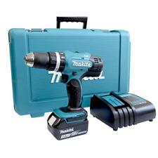 Makita DHP453SF 18v Combi Drill 1 x BL1830 Charger & Case