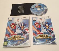 Mario & And Sonic at the Olympic Winter Games Nintendo Wii PAL Sega Complete