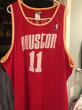 Houston Rockets Yao Ming Throwback Jersey Reebok Sz 56