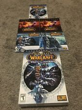 World Of Warcraft - Wrath Of The Lich King - Never Used. PC. Cd's Never Used.