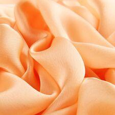 Damen Seidenschal Lang Weich Sunscareen Weiche Umhängetuch Stahl Einfarbig weiß