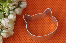 Cat Shape Icing for Cupcakes HELLO CAT Cookie Cutter Cake Decorating Cut