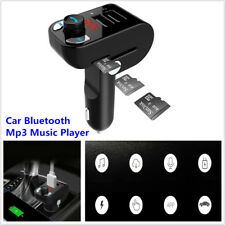Car FM Transmitter MP3 Player Wireless Hands-free Call Bluetooth USB Car Charger