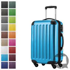 Handgepäck Hauptstadtkoffer Alex Reisekoffer Trolley 55cm blau TSA Bordcase