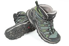 Salomon X Ultra Mid 2 GTX Athletic Support Hiking Boots Beetle Green Men's US 7
