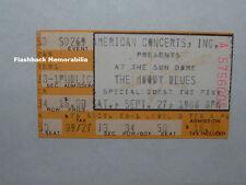 Moody Blues / The Fixx Concert Ticket Stub 1986 Tampa Fl Usf Sun Dome Very Rare