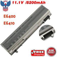 11.1V 5200mAh Battery For Dell Latitude E6400 E6410 E6500 E6510 M2400 Laptop Us