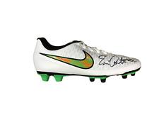 Eric cantona manchester united signé nike football boot voir la preuve coa
