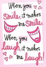 Funny Love & Romance Laughing Smiles Clothes Off Hallmark Greeting Card