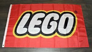 New Lego Banner Flag Toy Toy Store Advertising Construction Man Cave 3x5 Logo