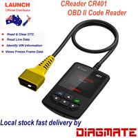 LAUNCH CR401 CReader 4001 Latest OBDII/EOBD Scanner Tool CReader V + Update