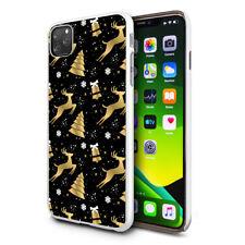 Christmas Xmas Festive Mobile Phone Case Cover For Apple Samsung Huawei - C1