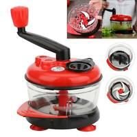 Multi-Function Manual Food Grinder Meat Vegetable Cutter Chopper Shredder Tool