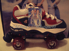 size 1 youth Britney Spears Skechers 4 Wheeler Roller Skates skate quad derby