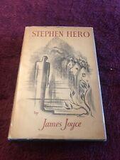 Stephen Hero by Joyce, James 1st Edition