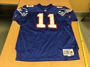 1994 Wilson NFL Authentic Jersey Drew Bledsoe New England Patriots Sz. 52 VTG