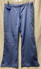 Grey's Anatomy Ciel Blue Size Large Petite Scrub Pants Style 4232P