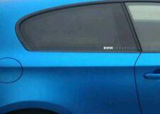 Pegatina Sticker BMW línea de vida pulso cardiograma ventanilla  20 cm ancho