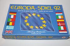 Europa Spiel 92 Quizspiel (1992) ASS, Brettspiel Wissen Wissens des Fragen zu