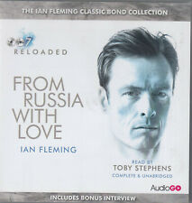 From Russia with Love Ian Fleming 8CD Audio Book Unabridged 007 James Bond