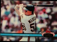 Topps 91 #448 - Pittsburg Pirates - Mitch Webster