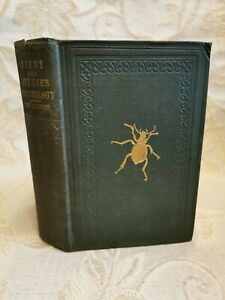 Antique Book Introduction To Entomology Elements Of Natural History Inserts-1860