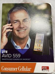 ZTE Avid 4G N9120 - 2,355.2MB - Black (MetroPCS) Smartphone