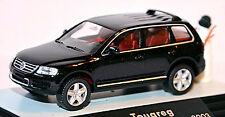 VW Volkswagen Touareg Type 7L Limitée Noël édition 2003 noir noir 1:87 W