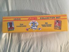 1990 SCORE BASEBALL FACTORY SEALED  SET OF 714 TRADING AND 56 TRIVIA CARDS