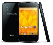 LG NEXUS 4 E960 16GB BLACK SMART PHONGOOD CONDITION - 3G - 8MP- BLACK - UNLOCKED