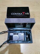 Contax TVS 35mm Camera