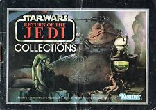 "STAR WARS ""RETURN OF THE JEDI"" 20 PAGES KENNER USA CATALOGUE / THE FORCE AWAKENS"