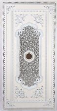 B&S Lighting Inc Ceiling Medallion RECT-W089-36X72 Silver in Rectangular Shape