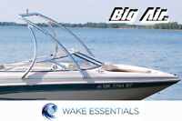 Wakeboard Tower Polished Aluminum Big Air Ice Tower from WAKE ESSENTIALS