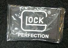 GLOCK PERFECTION BLACK PVC LOGO PATCH HOOK & LOOP BACKING Promo