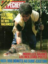 Revue le pêcheur de France No 72 Juillet 1989