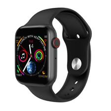 Smartwatch W34 Bluetooth Uhr Curved Display Android iOS Samsung iPhone Huawei IP