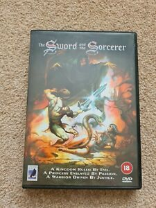 THE SWORD AND THE SORCERER (1982). Lee Horsley / Kathleen Beller. DVD