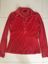 Gucci Velvet Long Sleeve  Top  Size 42 It